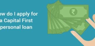 Capital First Personal Loan